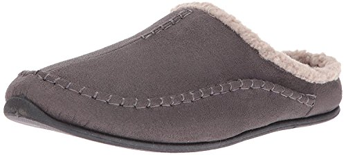 Deer Stags Men's Nordic Clog Slipper (9.5 D(M) US, Charcoal)
