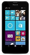 Nokia Lumia 635, Black 8GB (AT&T) with Bonus Orange Back Cover and 16GB Micro SD Card