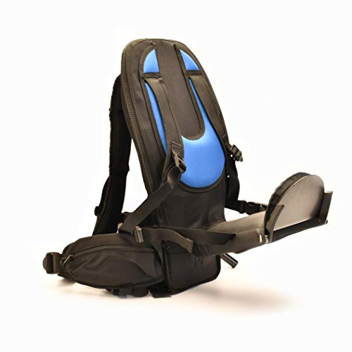 The Freeloader Child Carrier New Child Carrier, Toddler Backpack, Sleek, Lightweight and Secure Kid Carrier with Buckles, Stirrups, Great for Walks, Hikes, Travel, Outdoor Activity