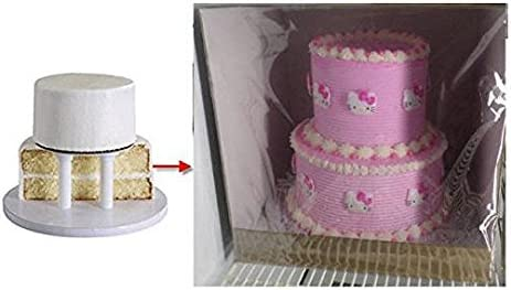 """Cake Box with Lid Wedding 18/""""x 18/""""x 7/"""" Celebration Cake Box Reduced to clear"""