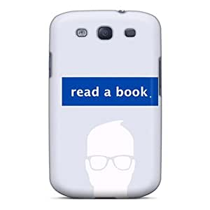 Galaxy S3 Case, Premium Protective Case With Awesome Look - Read A Book