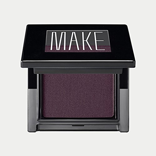 MAKE Cosmetics Satin Finish Eye Shadow, Aubergine (Smoldering Plum)