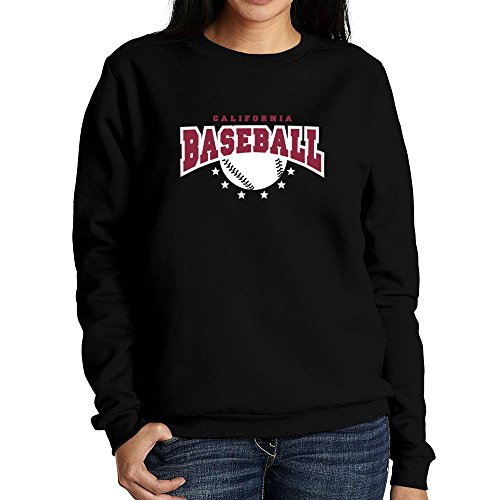Idakoos - California Baseball - Usa States - Women Sweatshirt