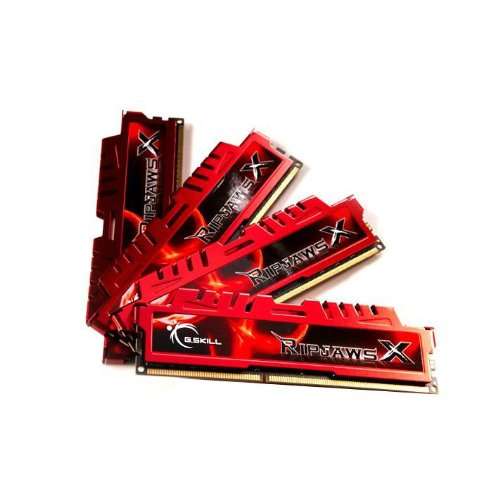 (G.SKILL Ripjaws X Series 32GB (4 x 8GB) 240-Pin DDR3 SDRAM 2133 (PC3 17000) Desktop Memory Model F3-2133C11Q-32GXL)