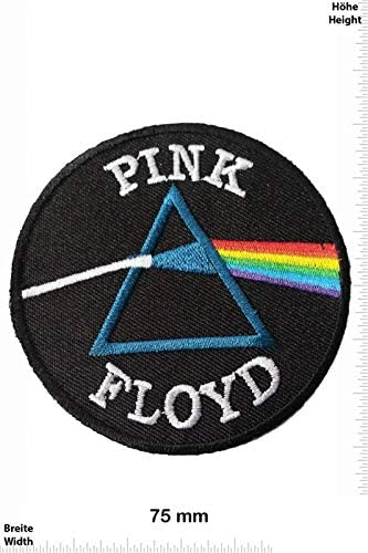 Pink Floyd Rainbow Square /Écusson/Patch Applique en fer brod/é sur accessoire