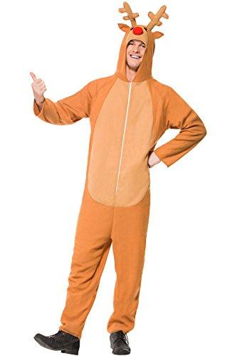 Reindeer Adult Costume - -
