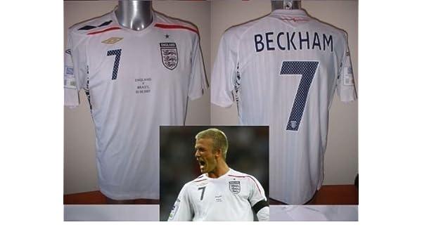 Umbro England bnwot Beckham Brasil Wembley Adultos Medium ...