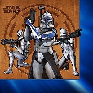 Star Wars - The Clone Wars Beverage Napkins (Star Wars Clone Wars Characters)