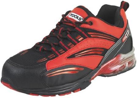KS Tools 310.1630 - Zapatillas de seguridad (con cámara de aire, talla 43), color rojo