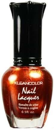 Kleancolor Nail Lacquer 160 Metallic Orange