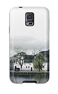 Premium Tpu House Cover Skin For Galaxy S5