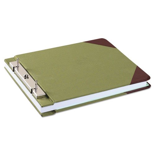 Wilson Jones 27827 Canvas Sectional Storage Post Binder, 3-Inch Cap, Green by Wilson Jones