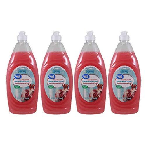 Mano rejuvenecimiento lavavajillas líquido, aroma fresco granada ...
