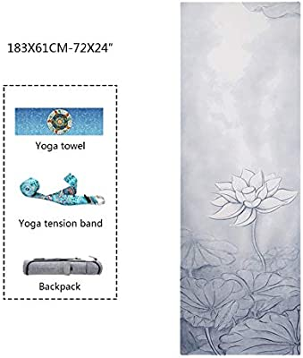 Uu-focus Ecológico Antideslizante Esterilla Yoga, Caucho ...