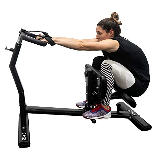 Valor Fitness CA-32 Back Stretch Machine with Adjustable Grip Handles and Safety Wrist Wraps - Improves Mobility and Reduces Muscle Pain and Soreness