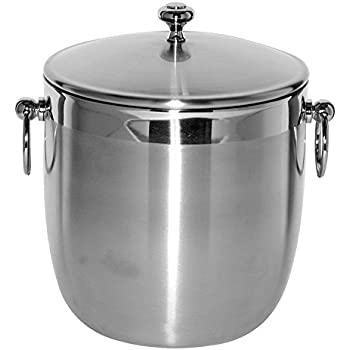 Amazon Com Service Ideas Ib3bs Stainless Ice Bucket