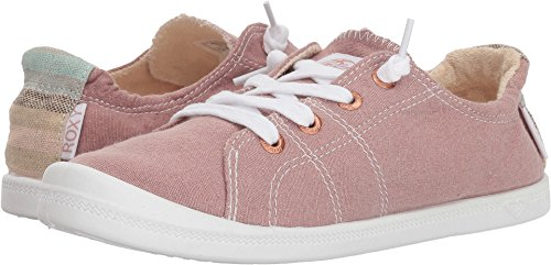 Roxy Women's Bayshore Slip on Shoe Sneaker, Rose, 9