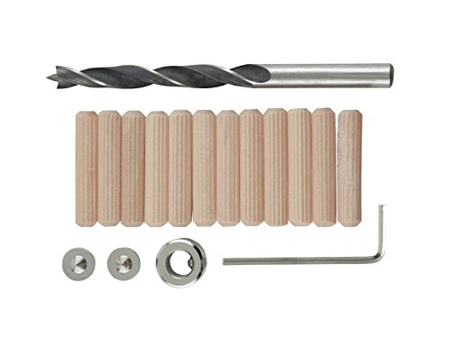 Fluted Towel Bar Set - General Tools 841516 5/16-Inch Dowel Accessory Kit