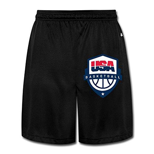 NImao Men's Rio 2016 Olympics USA Basketball Team Logo Shorts ()