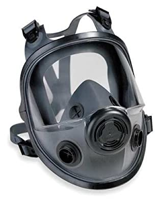 North by Honeywell 068-54001 Series 5400 Full Facepiece Respirator, Medium/Large