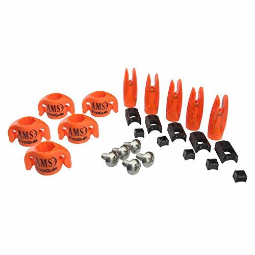 "AMS Bowfishing 5/16"" EverGlide Safety Slide Kit (Pack of 5)"