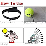 FP Boxing Reflex Ball Fight Ball with Adjustable