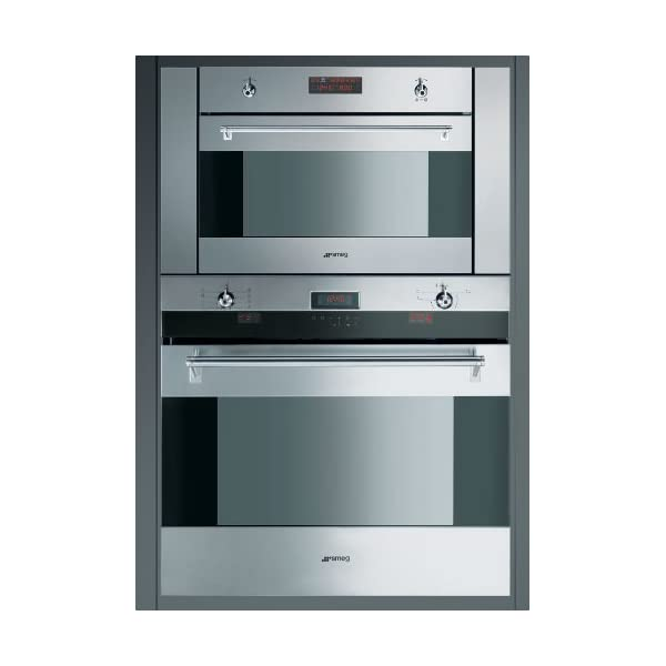 "SU45MCX 24"" Stainless Steel Built-In Speed Oven With 10 Cooking Functions 1000W Microwave Digital LED display Ergonomic Control Knobs Child Safe Control Lock & In Stainless 2"
