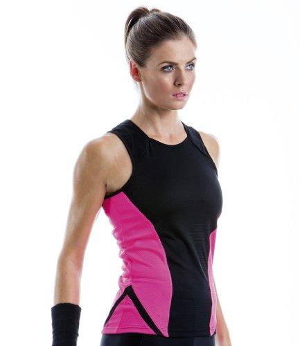 Patrones de costura para chalecos agilidad y Cooltex mujer Gamegear negro