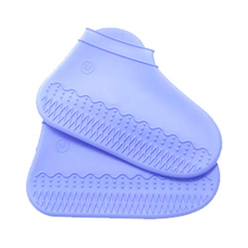 Silicone Shoe Covers, Waterproof Overshoes Non-Slip, Rain Boots Shoe Cases, Men Women Kids Thick Rainy Gear Outdoor Cycling Travel