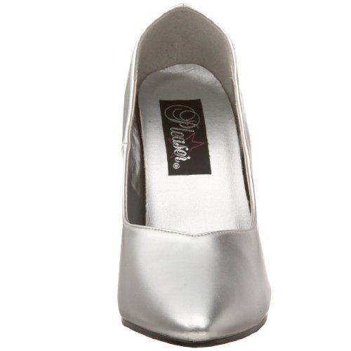 Pleaserdream Zapatos Tacón De 420w silver Plateado Mujer Pu Ug8UAqxn5