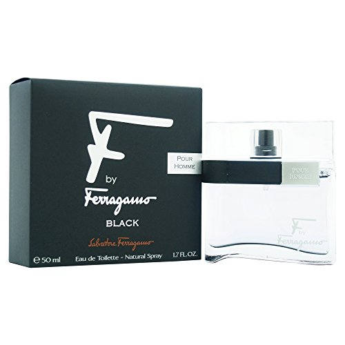 Salvatore Ferragamo F Black Eau De Toilette Spray for Men, 1.7 Ounce (John Varvatos By John Varvatos Cologne Review)