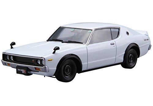 青島文化教材社 1/24 ザ・モデルカーシリーズ ニッサン KPGC110 スカイライン HT2000 GT-R 1973年 プラモデル No.15