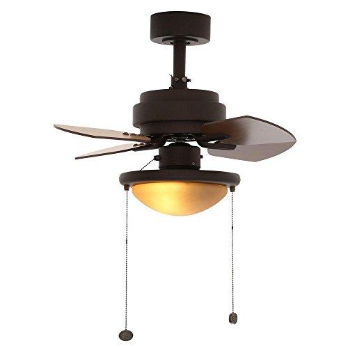 Hugger 52 in. LED Brushed Nickel Ceiling Fan 1002269802 – New