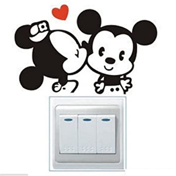 Amazon com: Cartoon Mouser, New, Best, Wall Décor Stickers