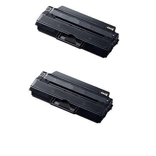 2Pack Samsung MLT-D115L High Capacity Black New Compatible Mono Toner Cartridge