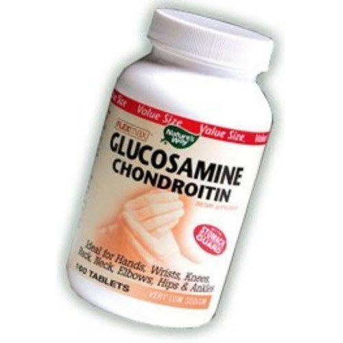 Nature's Way FlexMax Glucosamine Chondroitin Sulfate with Stomach Guard, 240 Tablets Chondroitin 240 Tabs