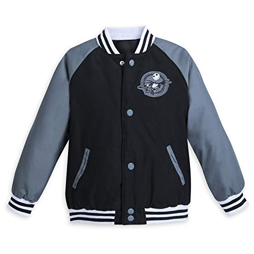 Disney Jack Skellington Varsity Jacket for Kids - Size 9/10 -