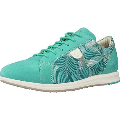 Calzado Deportivo para Mujer, Color Azul, Marca Geox, Modelo Calzado Deportivo para Mujer Geox D Avery Azul