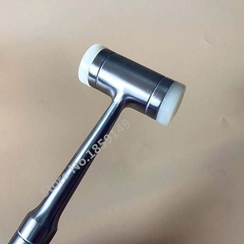 Dental Bone Surgery Mallet with Replaceable Teflon Inserts Multi Purpose Dental Implant by Haodental