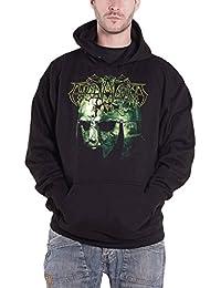Hoodie Vikingligr Veldi Band Logo Official Mens Black Pullover