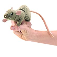 Folkmanis Puppets Rat Finger Puppet