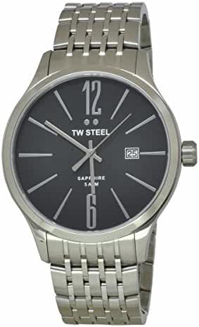 TW Steel Black Dial Stainless Steel Mens Watch TW1306 by TW Steel