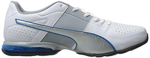 Puma Cell Surin 2 El entrenamiento cruzado de zapatos White/Silver/Cloisonnee