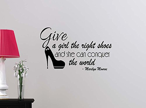 wall-decal-give-a-girl-the-right-shoes-and-she-can-conquer-the-world-vinyl-art-saying-lettering-moti