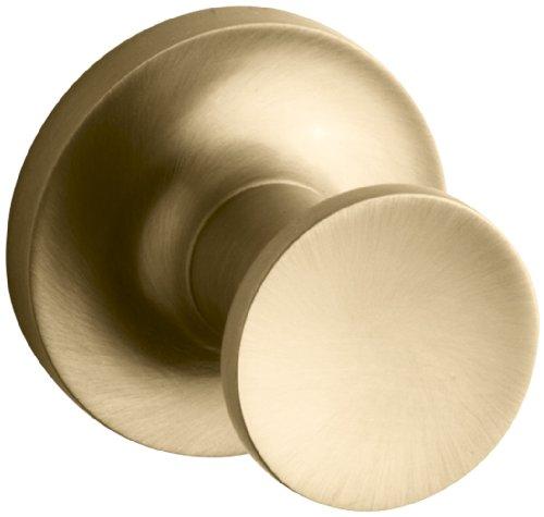 Gold Robe Hook (Kohler K-14443-BGD Purist Robe Hook, Vibrant Moderne Brushed Gold)