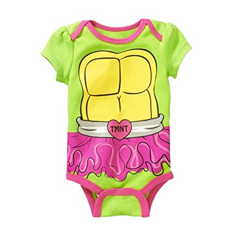 Teenage Mutant Ninja Turtle Baby Girls Bodysuit Dress Up Outfit 12 Months (Tmnt Outfit)