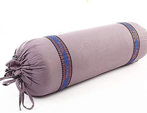 LUYION Cojín de meditación Zafu Funda Lavable de algodón ...