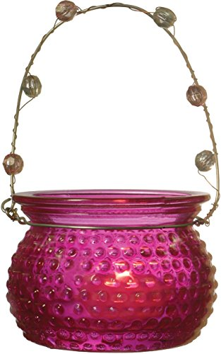 Hanging 2 25 Inch Rowenna Hobnail Fuchsia product image