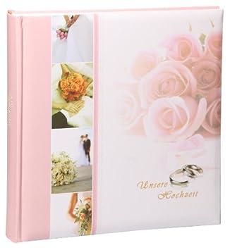 Wedding Fotoalbum in 30x30 cm 100 weiße Seiten Hochzeit Foto Album
