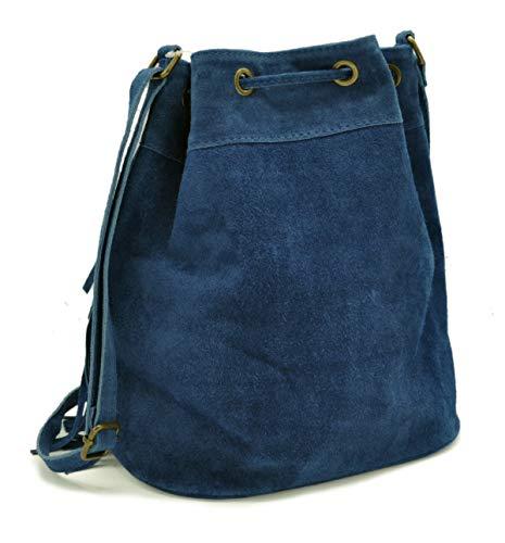Donna Lae L In Jean A Bleu Borsa In Spalla XXvpwr